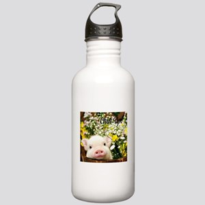 Chin Up! Stainless Water Bottle 1.0L