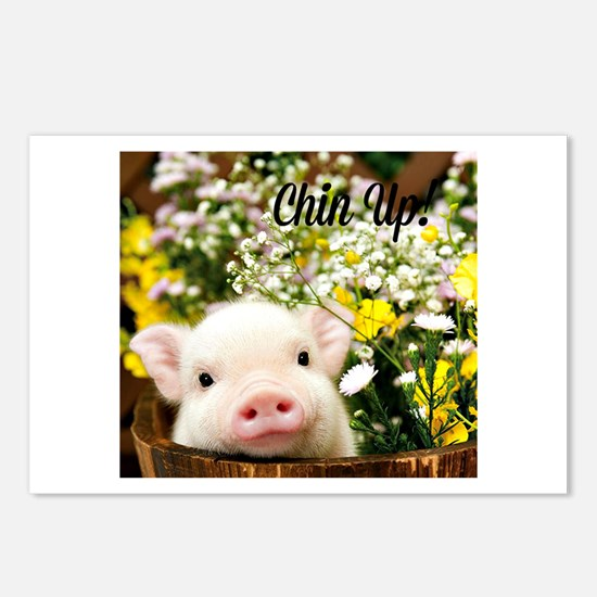 Chin Up! Postcards (Package of 8)