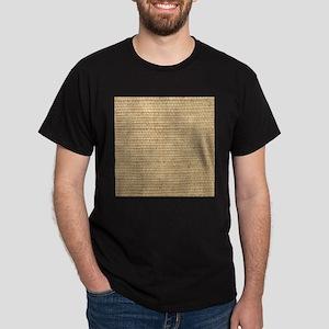 rustic western country beige burlap T-Shirt