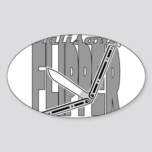 Balisong Flipper Sticker
