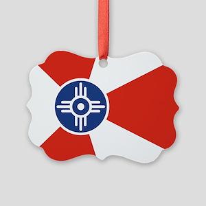 Wichita ICT Flag Ornament