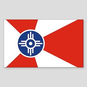Wichita ICT Flag Sticker