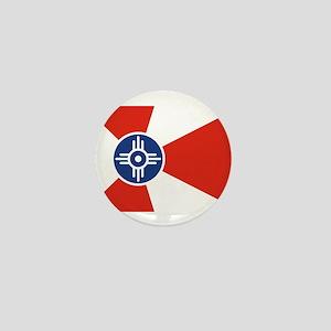 Wichita ICT Flag Mini Button