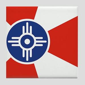 Wichita ICT Flag Tile Coaster