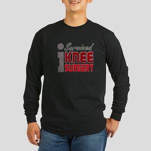 isurvived-kneesurgery Long Sleeve T-Shirt