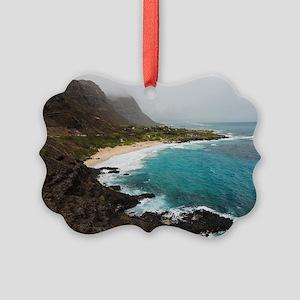 Makapu'u Beach Picture Ornament