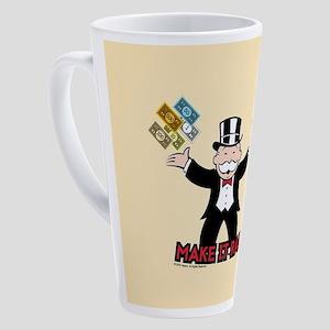 Monopoly - Make It Rain 17 oz Latte Mug