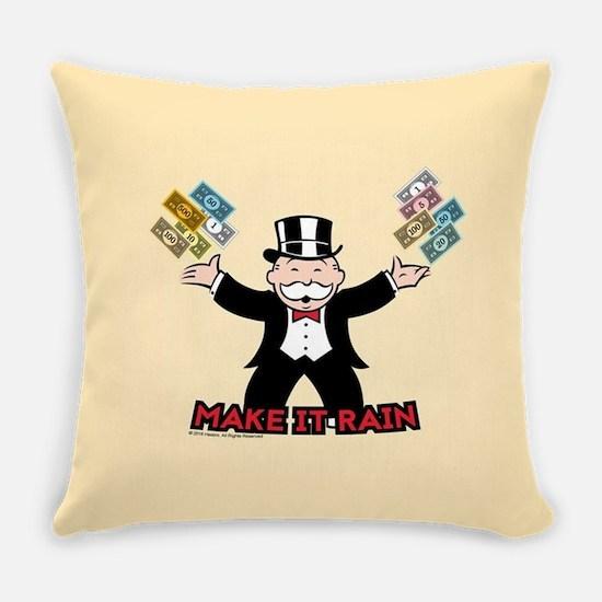 Monopoly - Make It Rain Everyday Pillow