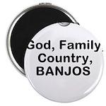 Banjo Talk Magnets