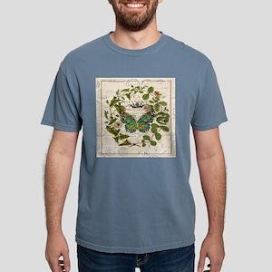 vintage botanical art butterfly T-Shirt