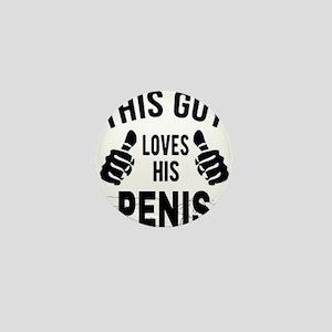 Penis joke Mini Button
