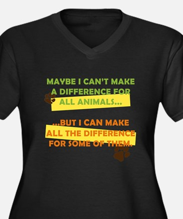 Making a Difference Plus Size T-Shirt