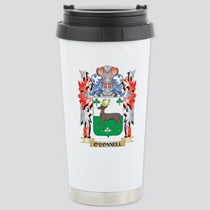 O'Connell Coat of A Stainless Steel Travel Mug
