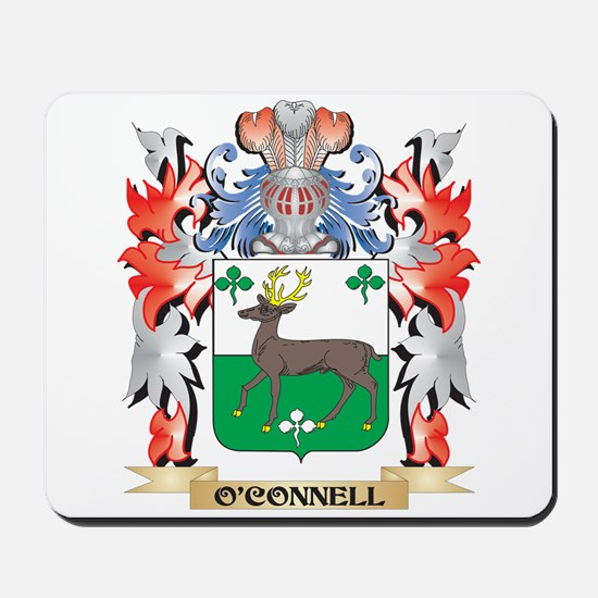 O'Connell Coat of Arms - Family Cres Mousepad