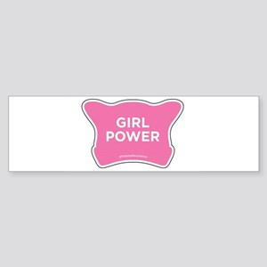 Girl Power Bumper Sticker