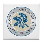 G.A.N.S. Logo Tile Coaster