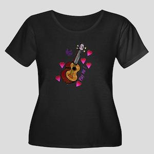 4-ukethong_trans Plus Size T-Shirt