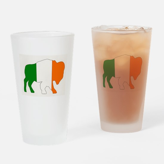 Irish Buffalo Drinking Glass