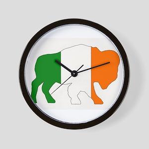 Irish Buffalo Wall Clock