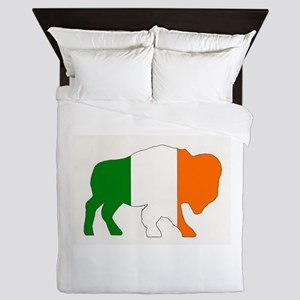 Irish Buffalo Queen Duvet