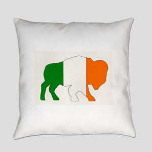Irish Buffalo Everyday Pillow