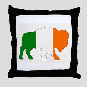 Irish Buffalo Throw Pillow