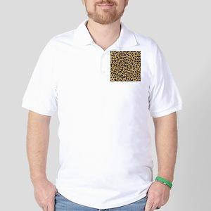 Leopard/Cheetah Print Golf Shirt