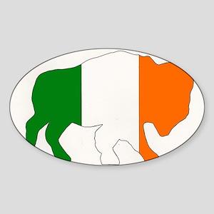 Irish Buffalo Sticker
