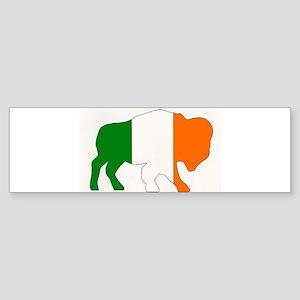 Irish Buffalo Bumper Sticker