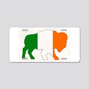 Irish Buffalo Aluminum License Plate