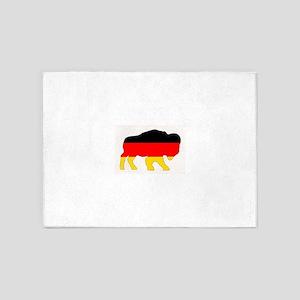 German Buffalo 5'x7'Area Rug