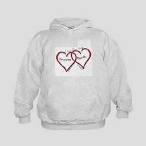 A true love story: personalize Sweatshirt