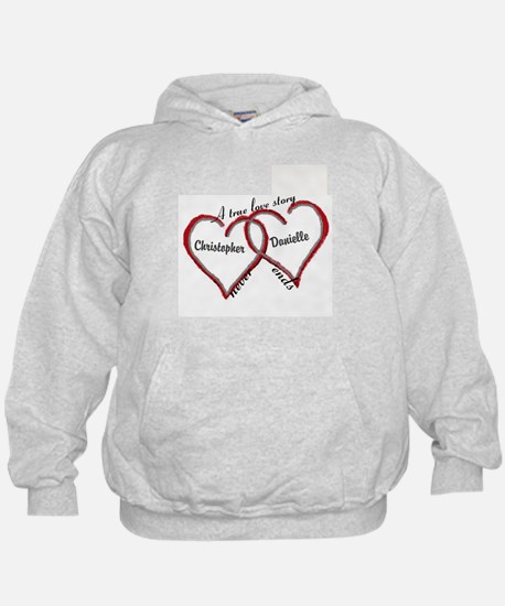 A true love story: personalize Sweatshirt