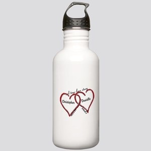 A true love story: personalize Water Bottle