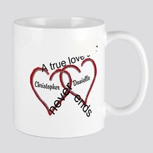 A true love story: personalize Mugs