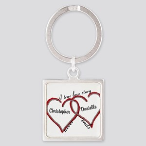 A true love story: personalize Keychains