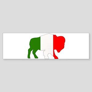 Italian Buffalo Bumper Sticker