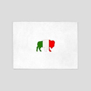 Italian Buffalo 5'x7'Area Rug