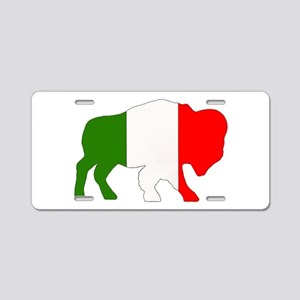 Italian Buffalo Aluminum License Plate