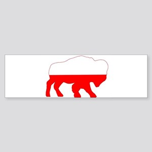 Polish Buffalo Bumper Sticker