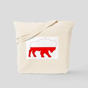 Polish Buffalo Tote Bag