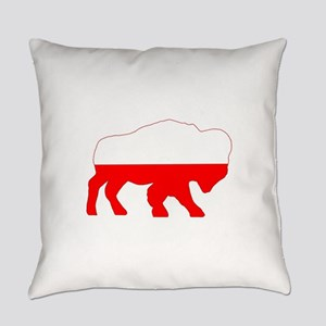 Polish Buffalo Everyday Pillow