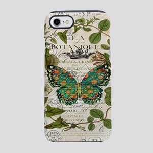 french botanical art butterf iPhone 8/7 Tough Case