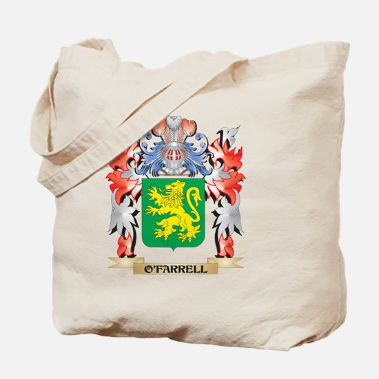 O'Farrell Coat of Arms - Family Crest Tote Bag