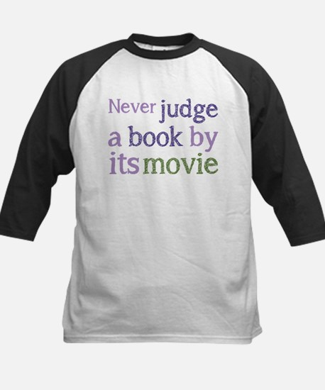 Never judge a book by its movie Baseball Jersey