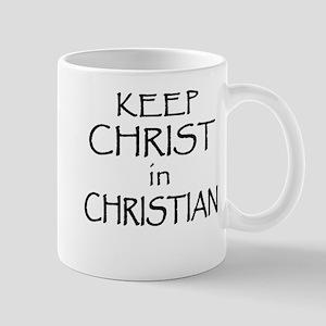 Light-Keep Christ In Christian Mugs