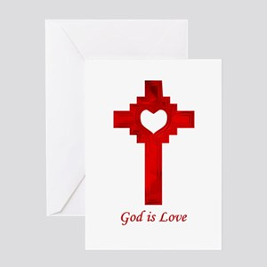 God Is Love - Greeting Card