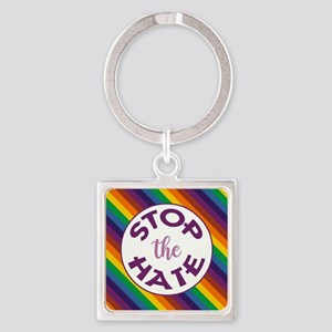 STOP THE HATE. Keychains