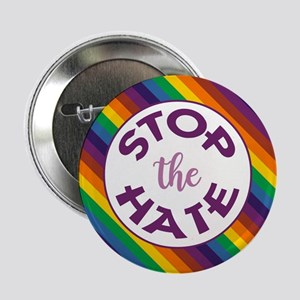 """STOP THE HATE. 2.25"""" Button (10 pack)"""