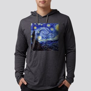 Starry Night by Vincent van Go Long Sleeve T-Shirt